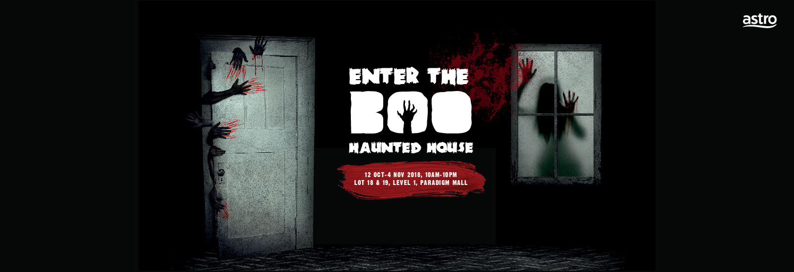 Boo Haunted House 2018