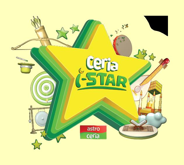 Astro Ceria i-Star 2016 Logo