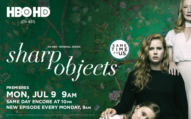 HBO - Sharp Objects  Mobile